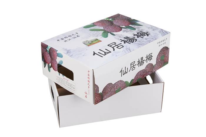 仙居杨梅包装盒