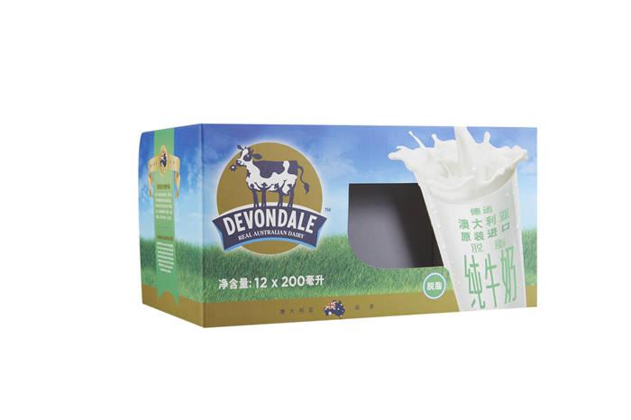 进口牛奶包装盒