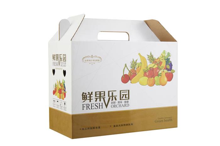 鲜果乐园手提包装盒